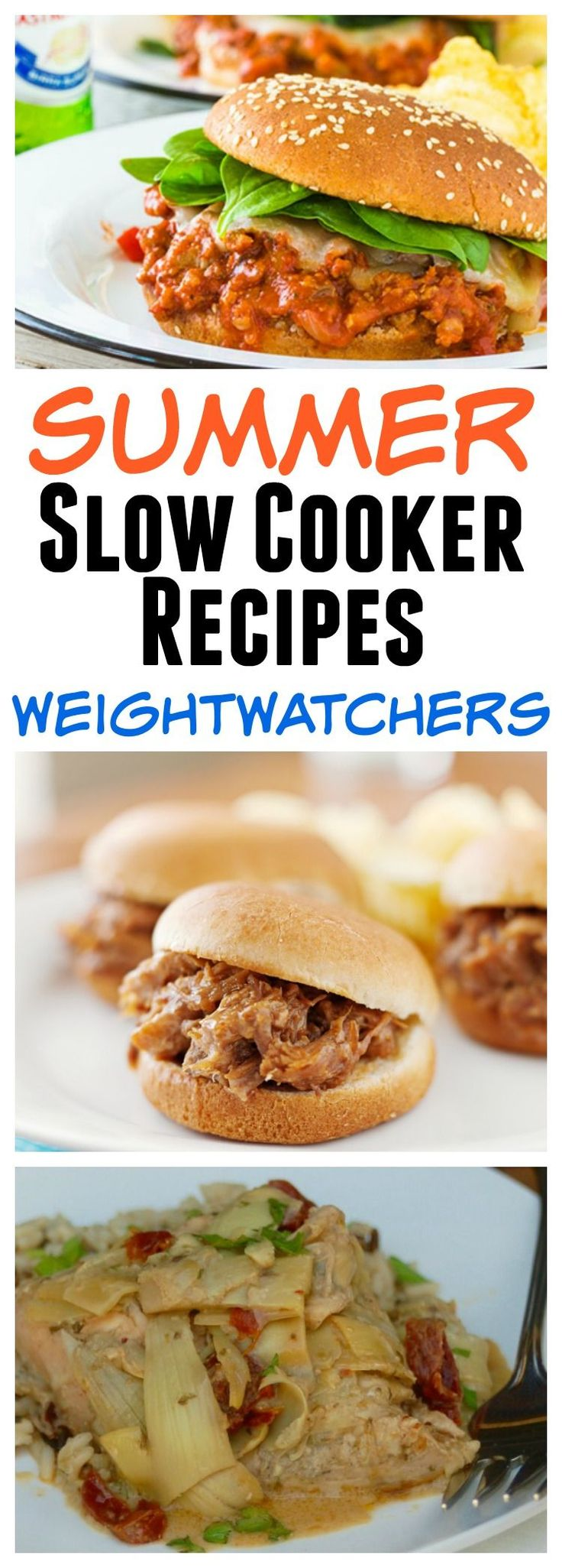 43+ Summer Slow Cooker Recipes with SmartPoints & Points Plus for Weight Watchers
