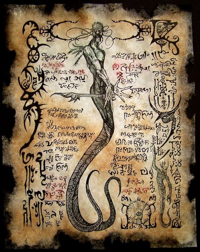 Yig Father of Serpents by MrZarono.deviantart.com on @deviantART