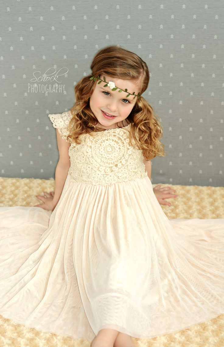 #marilijean  #dreammariliwardrobe  #dreammarilibedroom  Vintage Crochet Girl Dress - princess dress