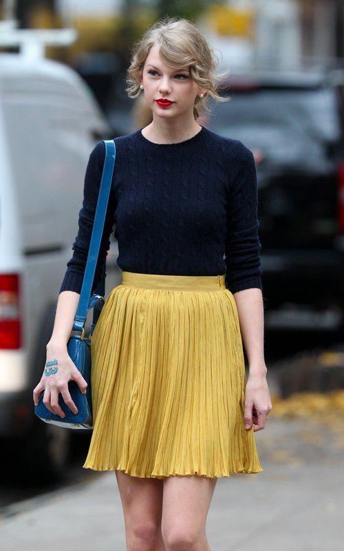 Blonderings: Ponderings of a Blonde: Taylor Swift Fashion!