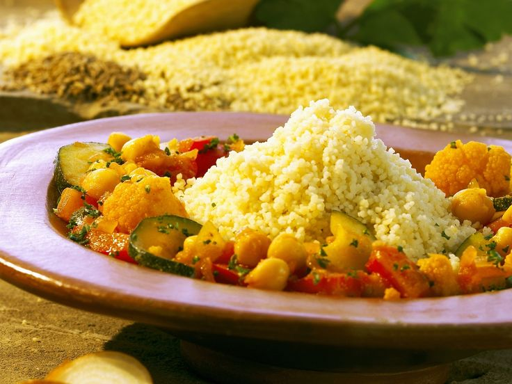 Couscous mit buntem Gemüse - smarter - Kalorien: 299 Kcal - Zeit: 45 Min. | eatsmarter.de