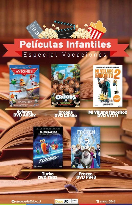 DVD infantiles destacados