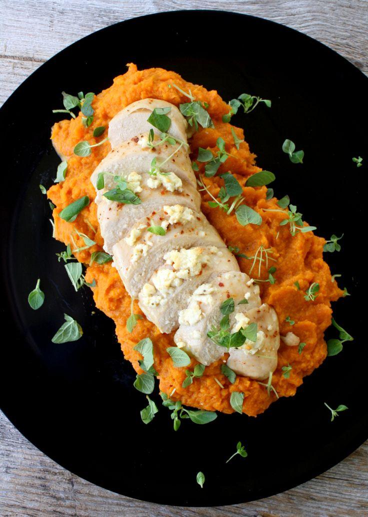 lindastuhaug | Fetabakt kyllingfilet med rotmos