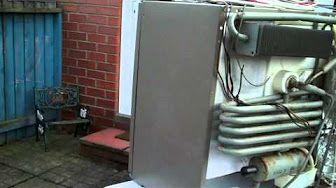 utiliser un frigo electrolux en camping car - YouTube
