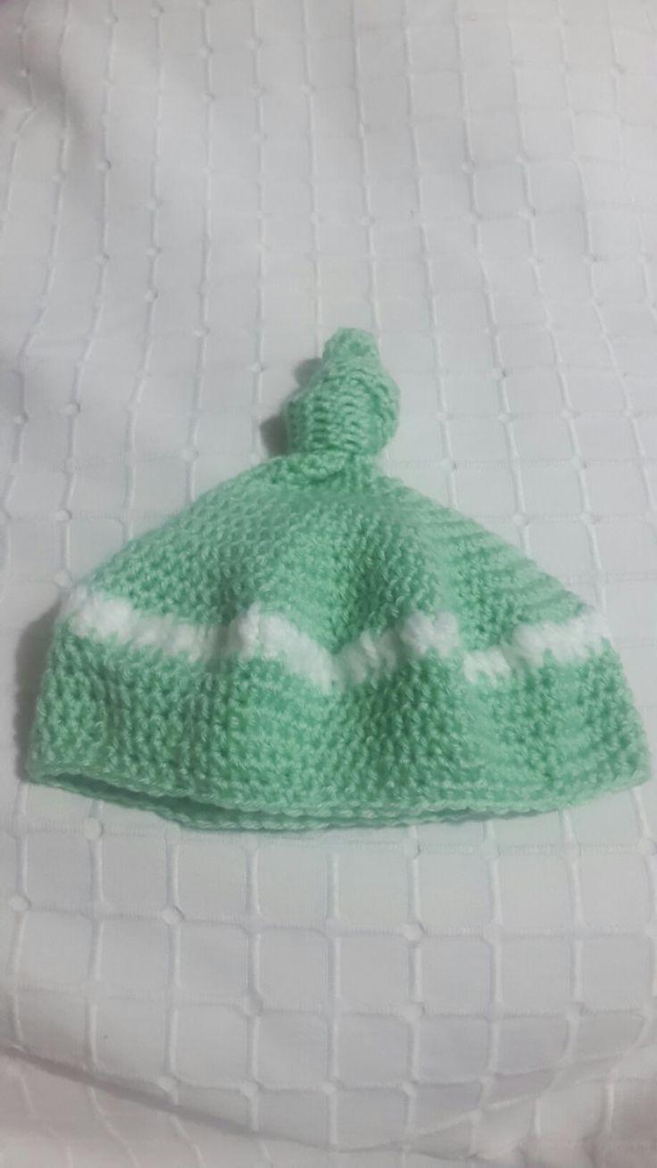 Gorro recien nacido!  Crochet