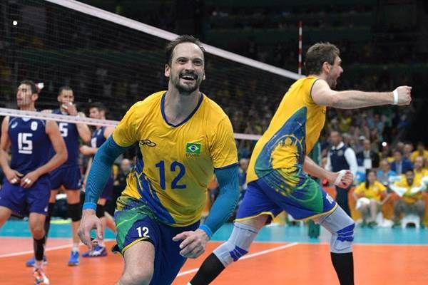 Brasil gana oro en voleibol masculino de Rio-2016