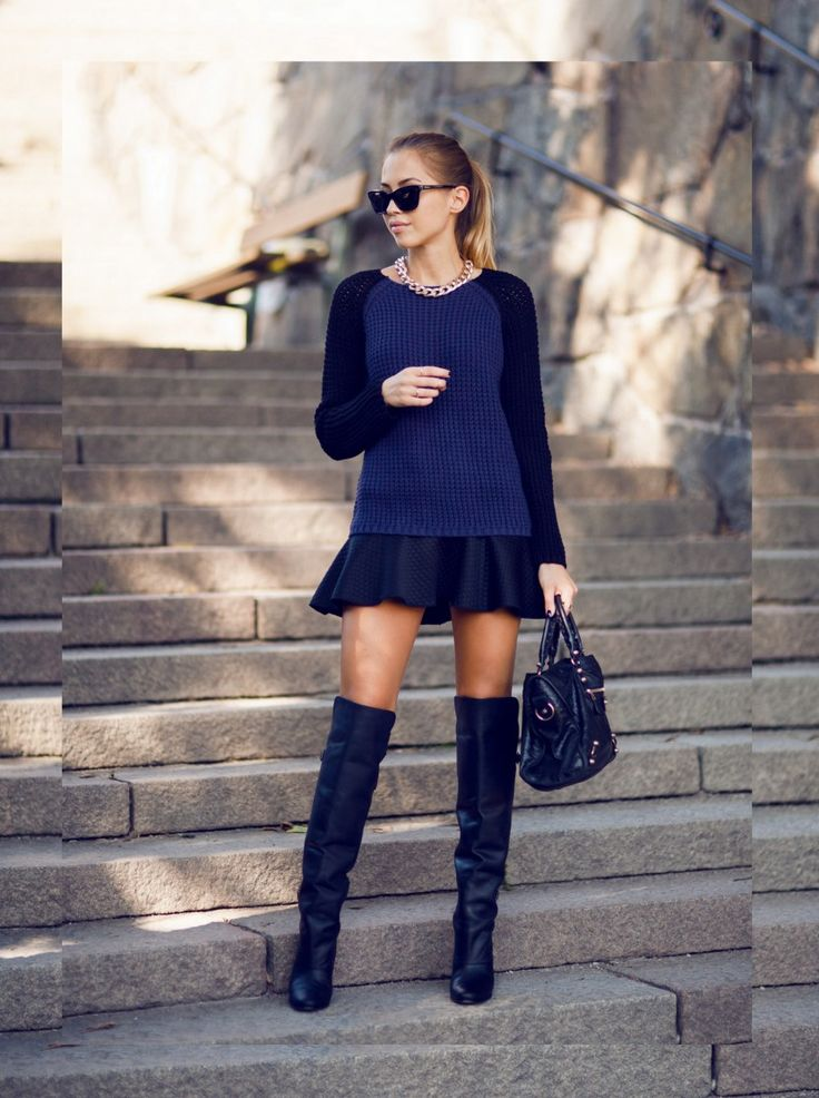 1000  images about Over knee boots- how to wear on Pinterest ...