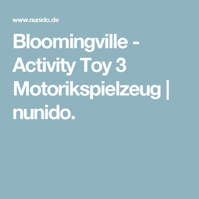 Bloomingville - Activity Toy 3 Motorikspielzeug | nunido.