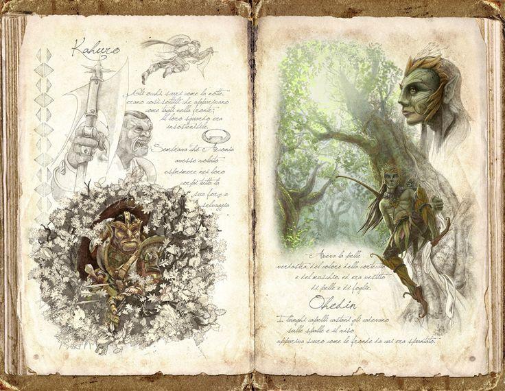 Fantasy creatures - by Claudio Prati