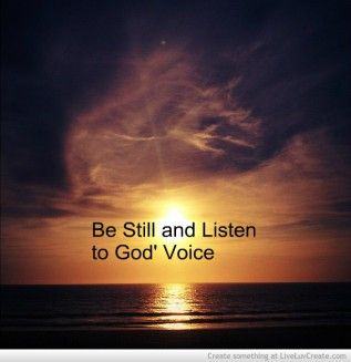 how to listen to the inner voice of god