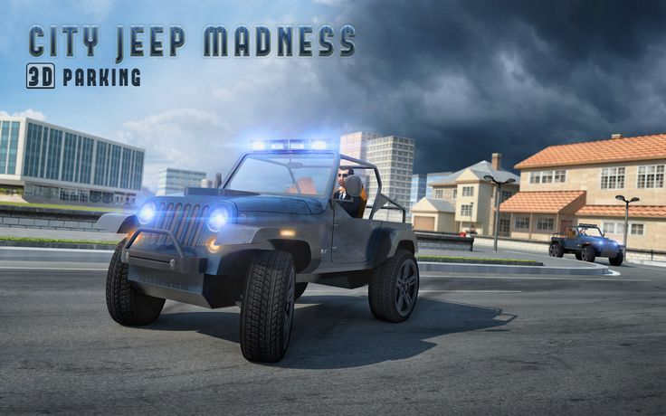 Have a blast playing our new #Jeep #Parking #Game!