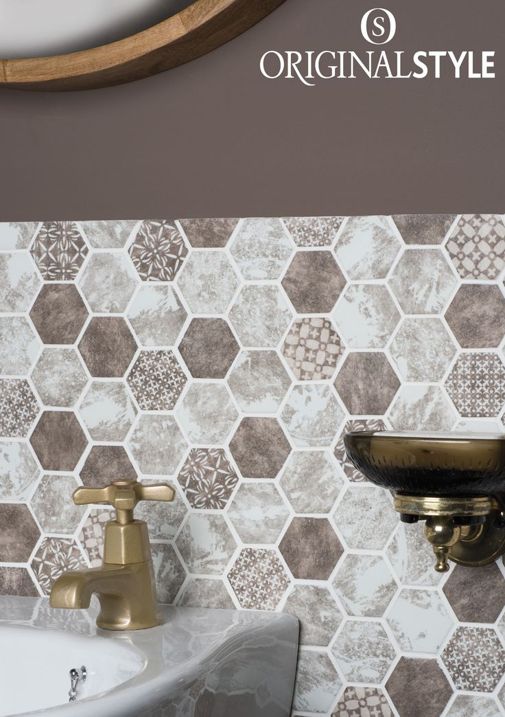 Take a close look at the intricate patterns on these Savoy tiles from the Mosaics range by Original Style. These glass tiles create a great patchwork effect splashback.