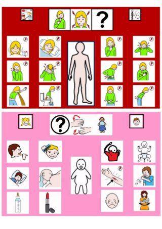 Recopilacion de tableros de comunicacion 12 casillas, con pictogramas…