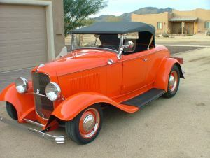 1932 Ford Roadster All Steel