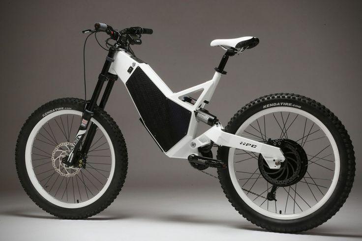 The $11.5K 'Revolution X' E-Bike Can Do 60 MPH
