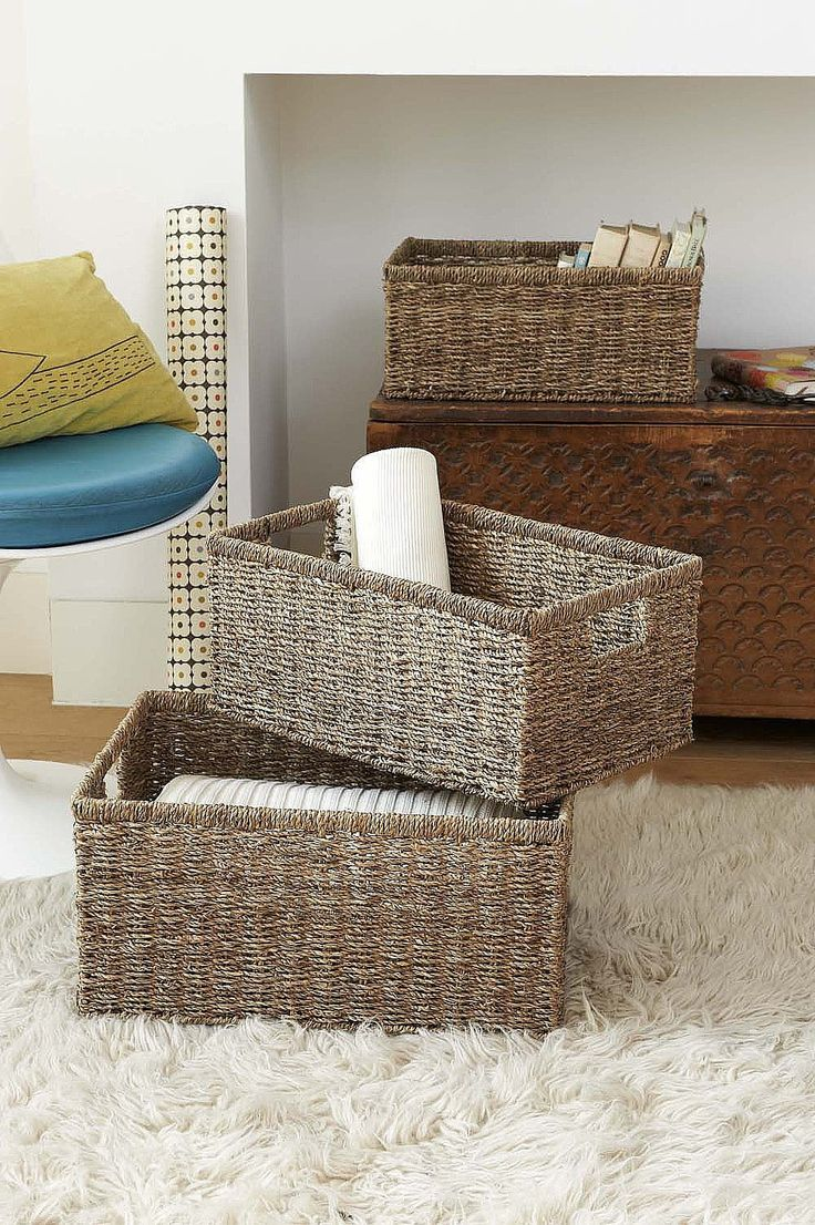 With its natural tone this gorgeous seagrass storage basket is the perfect solution if you are wanting to create more storage space.