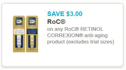 Roc cosmetics coupons