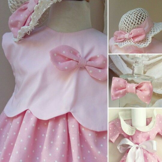 Βαπτιστικο ρούχο  σε ροζ πουά απόχρωση για  μοντέρνες  μικρές  κυρίες!#βάπτιση #γάμος #vaptisi #vaftisi #καραβι #navy #naftiko #vaptistika #pink #baby #wendding #greece #vintage