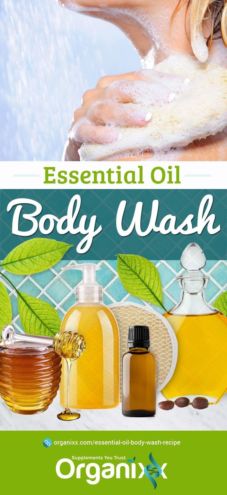 Essential oil body wash recipe in 2020 body wash