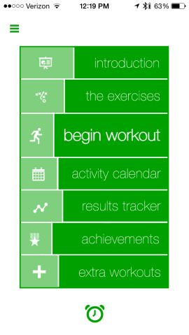 7-minute workout app puts a personal trainer in your pocket