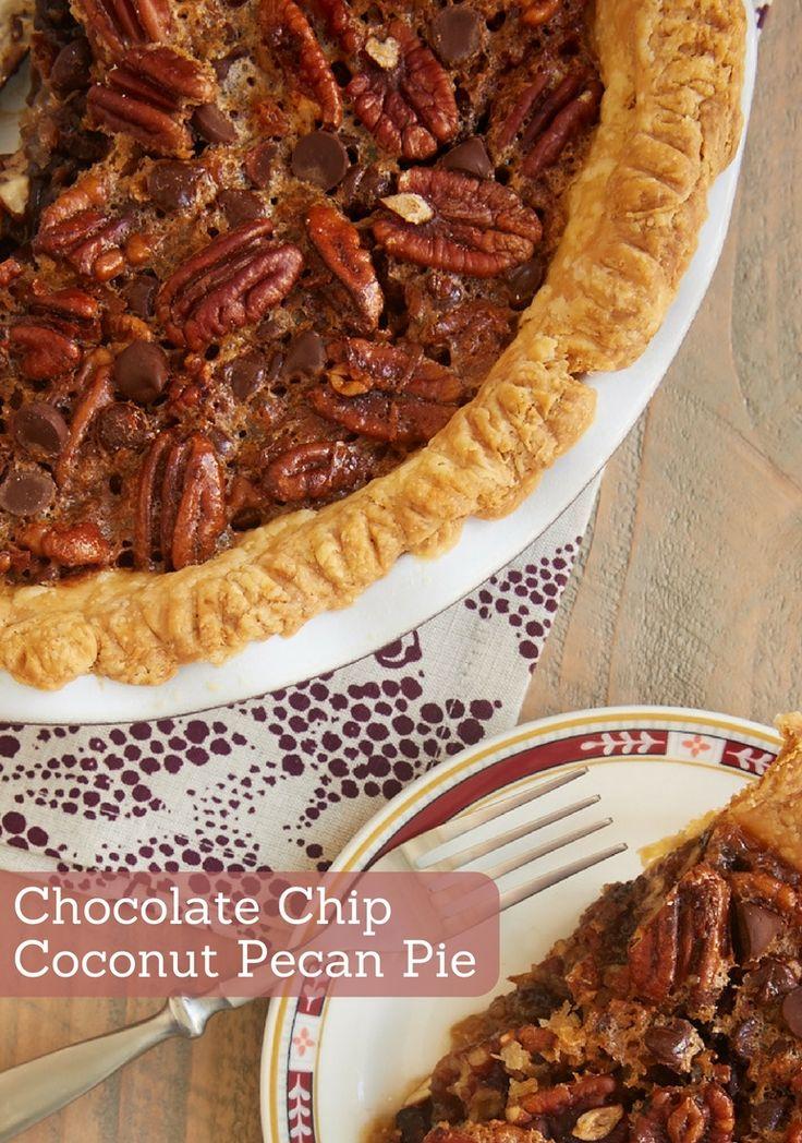 chocolate chip coconut pecan pie coconut pecan novels cook books pecan ...
