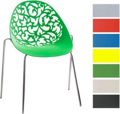 Design Retro Stapelstuhl FAITH, Materialmix aus Kunststoff und Metall in Chromoptik, bis zu 6 Farben wählbar Jetzt bestellen unter: https://moebel.ladendirekt.de/kueche-und-esszimmer/stuehle-und-hocker/esszimmerstuehle/?uid=1f1c10df-6f8c-5154-ab9c-1d8fa7df6114&utm_source=pinterest&utm_medium=pin&utm_campaign=boards #kueche #esszimmerstuehle #esszimmer #eckbänke #hocker #stuehle