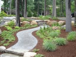 Stone Stone Dust Walkway The Landscape Pinterest
