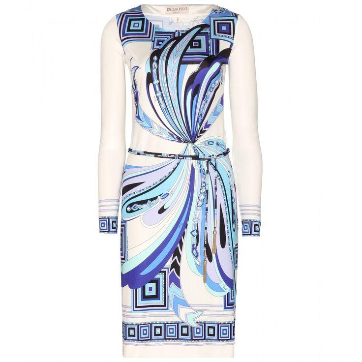 Printed Silk Dress ► Emilio Pucci : mytheresa.com