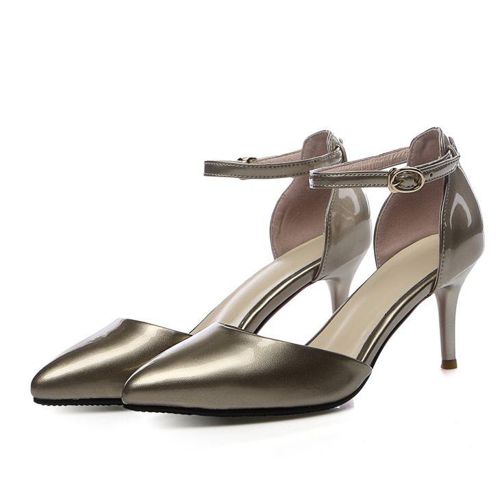 Мэри Джейн туфли на каблуках серебряные туфли сексуальные высокие каблуки итальянский мешок обуви набор Клей дизайнер женщины люкс 2016 новый ню насосы
