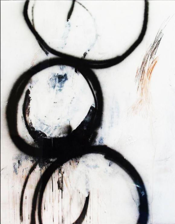 "Mel DeWees, ""Misplaced"", mixed media: Paintings Art, Artworks Ideas, Mixed Media Circles, Mixed Paintings, Art Wishlist, Inspiration Art, Art Galleries, Medium, Mel Dewees"