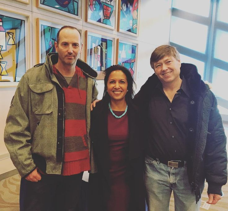 Honored to stand with former oil sands workers who started @ironandearth to transition #workers for #cleanenergy #jobs.  #edmonton #canada #future