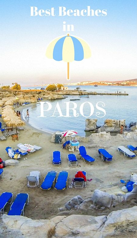Some of the great beaches in #Paros, #Greece