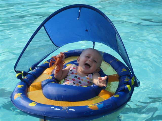 Baby swimming float-used this with my daughter, it is fabulous!