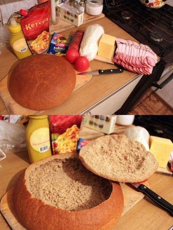 Те, кто режет хлеб ломтиками, увидев эту идею, больше никогда так не сделают!