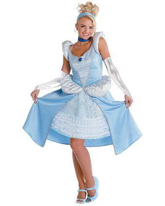 Womens Sassy Prestige Cinderella Costume   Wholesale Disney Halloween Costume for Women