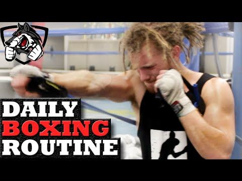 My Boxing Workout for Fight Preparation (Daily Training Routine)