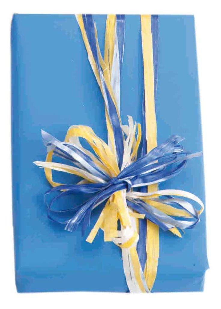 Cinta de rafia decorativa, 21 colores disponibles, raphia 5401 rollos de 200 metros. Fácil, bonito y elegante.