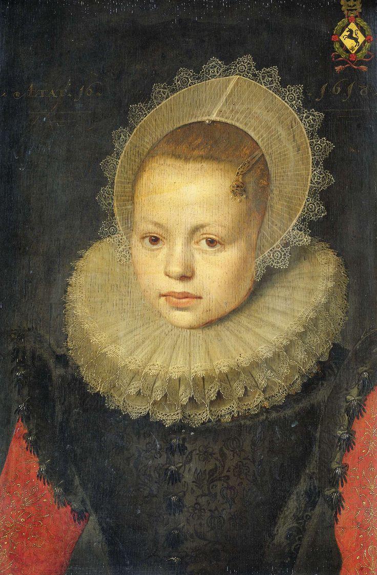 Portrait of Corvina Hezenbroek van Hofdijck, 1618