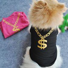 New Summer Pet Puppy Small Dog Cat Pet Clothes Vest T Shirt Apparel XS-L