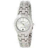 Anne Klein Women's 10-6927SVSV Swarovski Crystal Accented Silver-Tone Watch (Watch)By Anne Klein