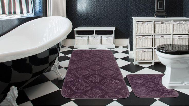 """Kolay yıkanabilir 2'li banyo paspasları 29.99 TL ve 34.99 TL fırsatıyla """"sadece"""" 4 gün! Sakın Kaçırmayın! www.madamecoco.com"""