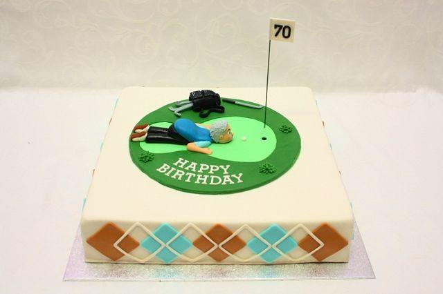 Golfer- Geburtstagstorte