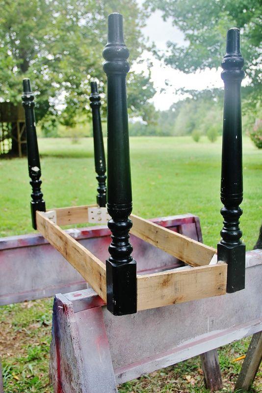 Pallet Top Desk - Thistlewood Farm