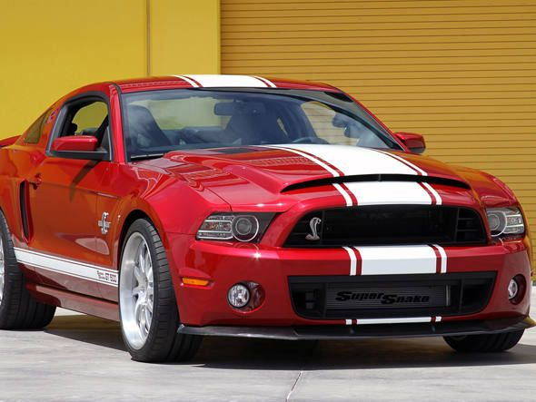 "Novo Ford Mustang Shelby GT500 2013 ""Super Snake"""