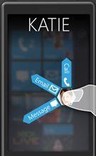 Windows Phone 7 - Design Studie - Step 4