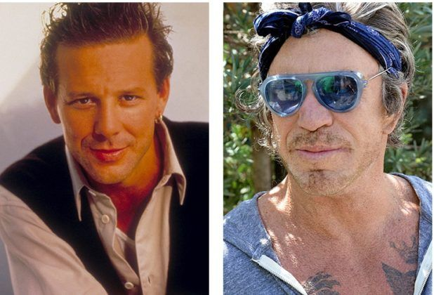 But Mickey Rourke, in contrast, from a pretty and even sexy man turned into a parody of himself. And sometimes to Chuck Norris. In a word, Mickey's appearance changes so often with the help of plastic that it's not always easy to follow his transformations. #plasticsurgery #celebritysurgery #chemiylecheidevi