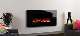 gazco electric fire side 1
