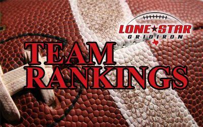 Texas high school football team rankings