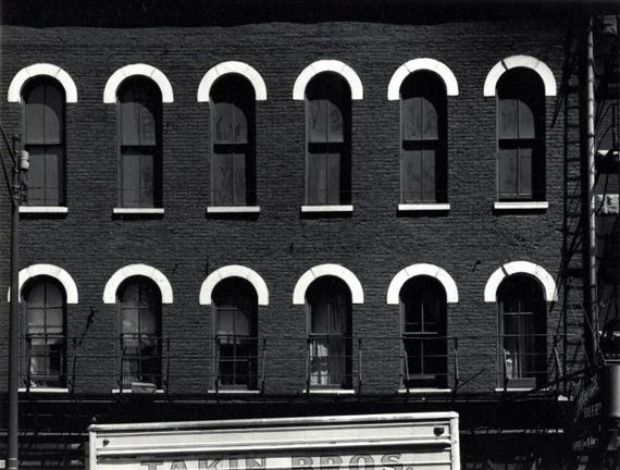 Aaron Siskind. 'Chicago Facade 7'