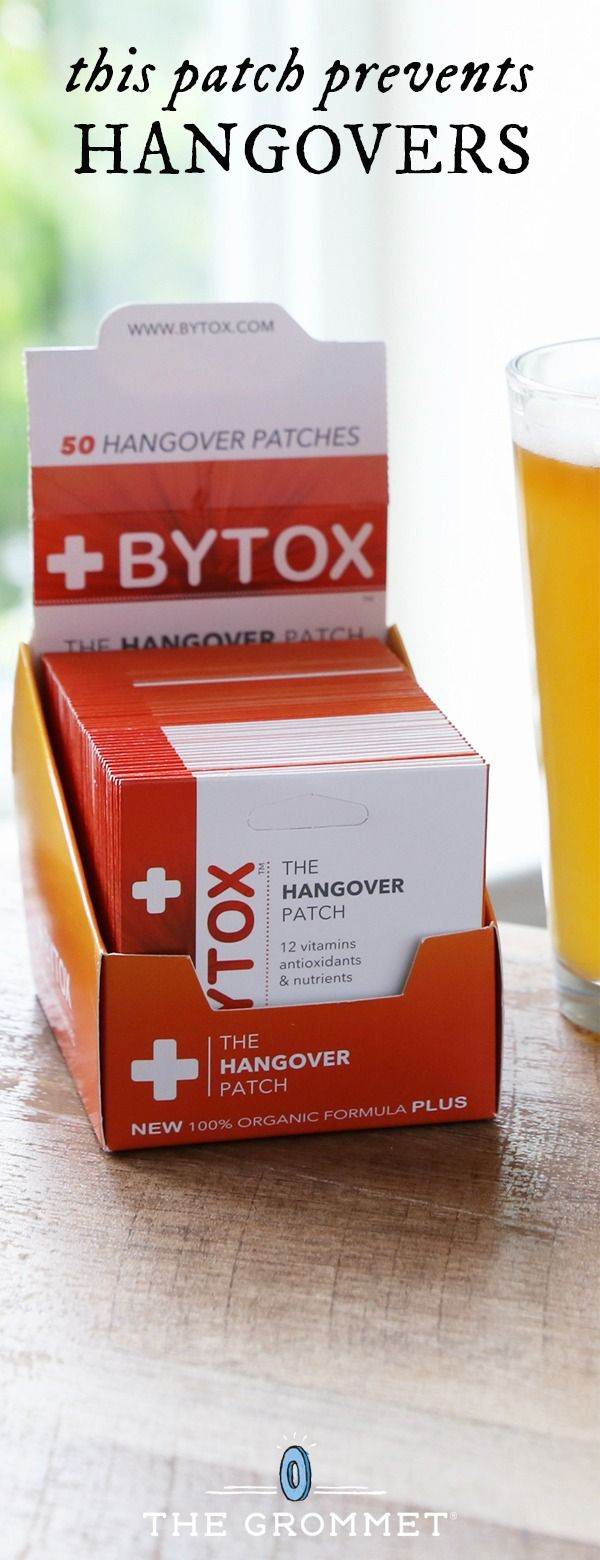 This nutrient-packed patch can help ward off hangover symptoms. It delivers needed vitamins and antioxidants straight to your bloodstream. Great for bachelor and bachelorette parties, to pack for a vacation, or to put in a wedding survival kit.